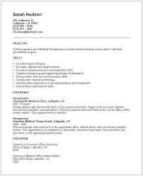 medical receptionist job description for resume sample resumes  medical receptionist job description for resume sample resumes best receptionist resume
