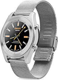<b>Умные часы NO.1</b> S9 серебро, ремешок сталь (NO.1S9SS) купить ...