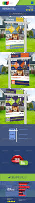 modern real estate yard signage riders by cooledition modern real estate yard signage 6 riders signage print templates