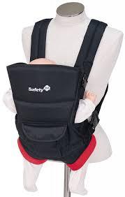 Рюкзак-переноска <b>Safety 1st Youmi</b> черный, <b>красный</b> — купить в ...