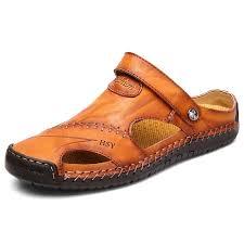 <b>IZZUMI Men's</b> Summer <b>Sandals</b> Golden brown EU 48 <b>Sandals</b> Sale ...