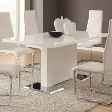 Acrylic Dining Room Chairs Glass Topped Large Extending Dining Table Dining Bamboo Deck
