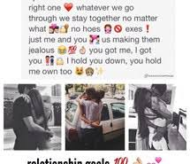 Relationship Goals Instagram Quotes. QuotesGram via Relatably.com