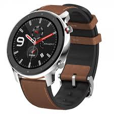 <b>AMAZFIT GTR 47mm Smart</b> Watch Global Version- 47mm Stainless ...