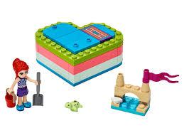 Летняя шкатулка-сердечко для Мии 41388 | <b>Friends</b> | <b>LEGO</b>.com RU