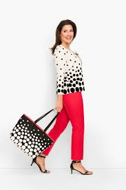 adriana cohen talbots o mag reteam to boost dress for success prev next