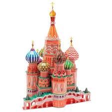 Пазл <b>CubicFun Собор Василия</b> Блаженного (MC093h ...