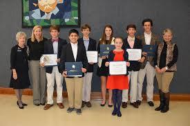 dar essay contest dar essay contest winners recognized frederica academy