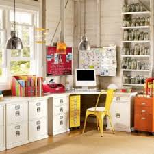 endearing office decor themes come with white l shape office drawer and simple yellow appealing office decor themes engaging