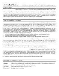loan officer resume   resumeseed commortgage loan officer job description sample