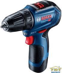 Шуруповерт <b>Bosch GSR 12V</b>-<b>30</b> (12B,30/18Нм,2Ач,2ск,2акк,безщ ...