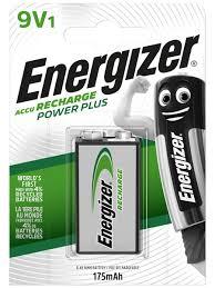 <b>Аккумулятор Energizer Power Plus</b> 175 NH22/9V, 1 шт. Energizer ...