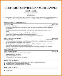 customer service manager resume   proposaltemplates infosample customer service manager resume examples