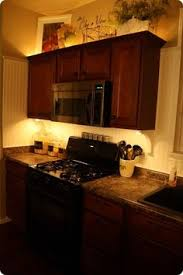 alder shaker kitchen kickboard lighting