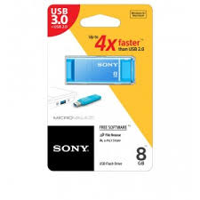 Sony Microvault X Series 3.0 <b>USB Flash Drive</b> - <b>8GB</b> - Sony - Brands