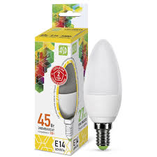 Светодиодная <b>лампа ASD</b> STANDARD Е14 5 Вт 450 лм 3000 К ...