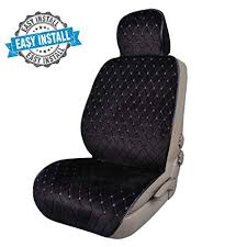CAR PASS <b>Full Cover</b> Quilting Sideless Universal fit Car <b>Seat Cover</b> ...