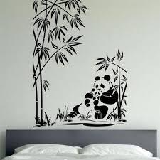 wall decal family art bedroom decor panda wall decal panda family sticker art decor bedroom design mural love family animals pandas bear