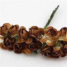 Citinny 144PCS/lot 1.5cm Mini Paper Rose Flowers ... - Amazon.com