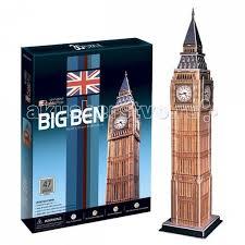 <b>CubicFun</b> 3D пазл <b>Биг бен</b> (Великобритания) - Акушерство.Ru