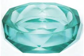 <b>Раковина</b> из стекла <b>Bronze de Luxe</b> в виде кристала