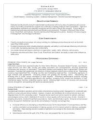 qualifications summary resumes education information technology    resume summary of qualifications for teachers
