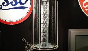 Image result for glass cylinder gas pump