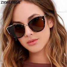 <b>ZXWLYXGX Sexy Cat eye</b> Sunglasses Women Luxury Brand ...