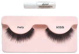 Купить Kiss <b>накладные ресницы Looks so</b> Natural Pretty черный ...
