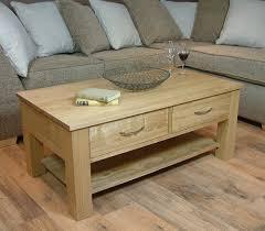 mobel oak coffee table with four drawers mobel solid oak dvd