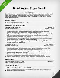 dental assistant cover letters dental assistant resume sample sample assistant resume cover letter