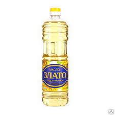 <b>Подсолнечное масло</b> «ЗЛАТО» раф, 1Л, цена в Москве от ...