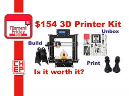 $154 <b>CTC 3D Printer</b> Kit from eBay, Unboxing, Assembly and Test ...