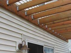 Pergolas  How to build and Back deck on Pinteresthow to attach pergola to house