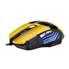 Игровая <b>мышь IMICE X7</b> оптическая USB - Желтая