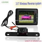 Wireless car security camera