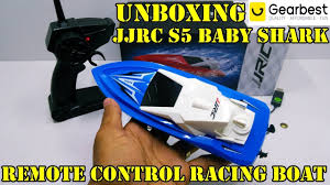 Unboxing <b>JJRC S5 Baby Shark</b> Remote Control Racing Boat ...