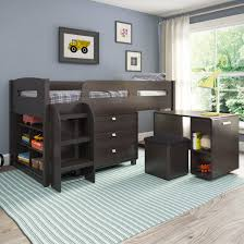 bunk beds wayfair shop for kids madison twin loft bed with storage kids play room bunk beds kids dresser