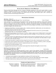 district manager resume best resume sample district manager resume berathen pertaining to district manager resume