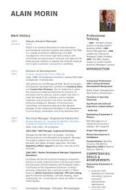 deputy general manager resume samples   visualcv resume samples    deputy general manager resume samples