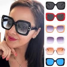 Unique Rice Nail <b>Sunglasses Wild</b> Retro Women Squre Cat's Eyes ...