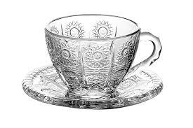 <b>Набор чайных пар</b> 1/6 <b>Хрустальное</b> солнце | Чашка, Солнце, <b>Пара</b>