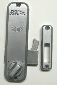 ko mechanical digital sliding door lock