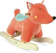 Vilac Vilac1114 Plush <b>Rocking Fox</b>, Multi-Color: Amazon.co.uk: Toys ...