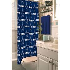 NFL Dallas Cowboys Decorative Bath Collection Shower Curtain - Bathroom wraps
