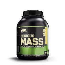 Optimum Nutrition <b>Serious Mass</b>, <b>High Protein</b> Weight <b>Gain</b> Powder ...
