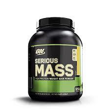 Optimum Nutrition <b>Serious Mass</b>, <b>High Protein</b> Weight Gain Powder ...