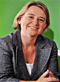 Natalie Bennett, the leader of The Green Party, who has been contesting Farage's TV - article-0-1B21395200000578-279_634x878