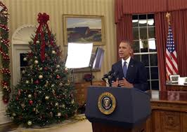 what did president obama say in his oval office address tonight alcom barack obama oval office