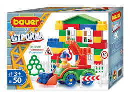 <b>Конструктор Bauer</b>, <b>серия Стройка</b>, 50 элем. (в коробке) - купить в ...